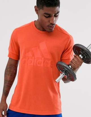 adidas ID stadium badge t-shirt-Orange