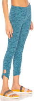 Beyond Yoga Twist And Shout Capri Legging in Blue. - size S (also in )