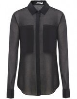 T by Alexander Wang Shirt | Sheer Silk Shirt