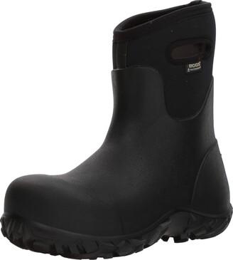 Bogs Men's Workman Mid Composite Toe Waterproof Construction Boot