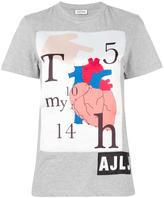 Au Jour Le Jour heart print T-shirt