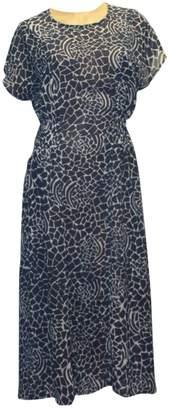 Olga Maison Blue Dress for Women