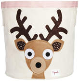 3 Sprouts Deer Cotton Canvas Storage Bin