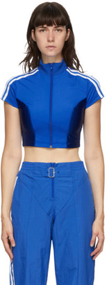 adidas Blue Paolina Russo Edition Crop T-Shirt