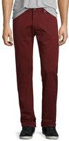 AG Adriano Goldschmied Matchbox Dark Red Denim Jeans