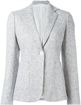 Kiton two button blazer - women - Silk/Linen/Flax/Polyamide - 42