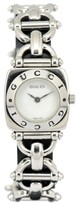 Gucci 6400L Stainless Steel with White Dial 21.5mm Womens Watch