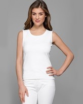 Lafayette 148 New York Cotton Ribbed Tank