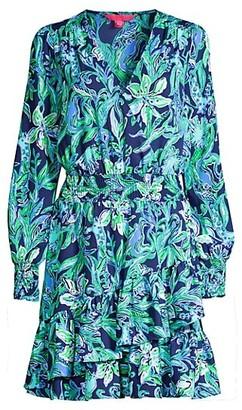 Lilly Pulitzer Cristiana Smocked Dress