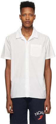 Noah NYC White Watercolor Floral Shirt