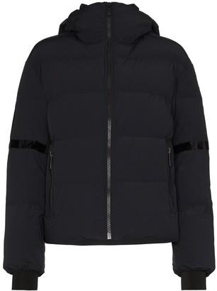 Fusalp Bars logo patch puffer jacket