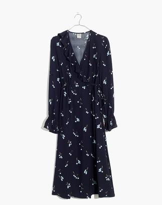 Madewell Baum Und Pferdgarten Annamay Ruffle Wrap Dress