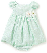 Laura Ashley London Baby Girls 12-24 Months Lace Bow Dress