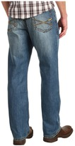 Stetson 1520 Fit, Medium Wash, Back Knee Tacking