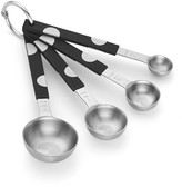 Kate Spade all in good taste deco dot metal measuring spoon set