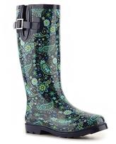 Poppie Jones French Blue Rain Boot