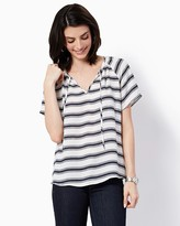 Charming charlie Katerina Striped Top