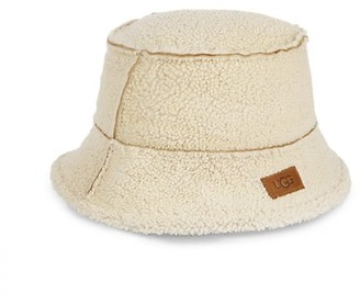 UGG Exposed Shearling Bucket Hat