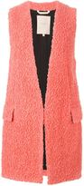 Roksanda long loop knit gilet