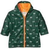 Hatley Silver Axes Splash Jacket Boy's Coat