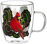 Evergreen Cardinal Cafe Mug