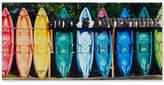 Intelligent Design Kayaking Colors Gel-Coated Canvas Print