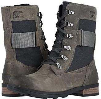 Sorel Emelie Conquest (Quarry) Women's Lace-up Boots