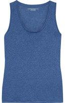 Majestic Slub Stretch-Linen Tank