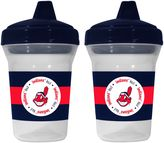 Baby Fanatic MLB Cleveland Indians 2-Pack 5 oz. Sippy Cup