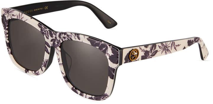 d22353a48 Gucci Acetate Sunglasses - ShopStyle