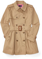 Ralph Lauren Cotton Poplin Trench Coat