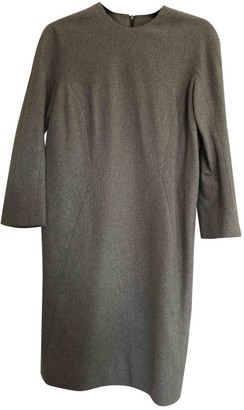 Thom Browne Grey Wool Dress for Women