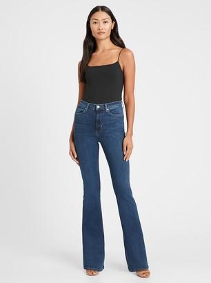 Banana Republic High-Rise Flare Jean