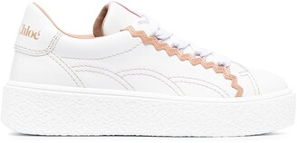 See by Chloe Low-Top Lace-Up Sneakers