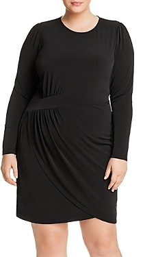 MICHAEL Michael Kors Draped Crossover Dress