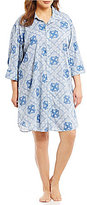Lauren Ralph Lauren Plus His Shirt Bandanna-Print Classic Sleepshirt