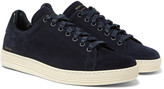 Tom Ford - Warwick Perforated Suede Sneakers