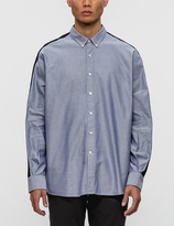 Ami Button Down Oxford L/S Shirt with Sleeves Bands