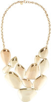 Lydell NYC Statement Bib Necklace, Gold