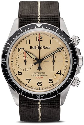 Bell & Ross BR V2-94 Beige Steel 41mm