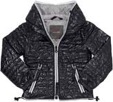 Duvetica Hooded Quilted Nylon Down Jacket
