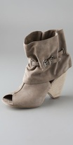 Marc By Marc Jacobs Ruffle Cuff Suede Booties