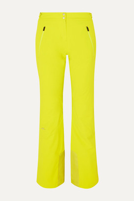 Kjus Formula Neon Slim-leg Ski Pants - Bright yellow
