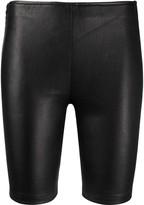 Manokhi leather bike shorts