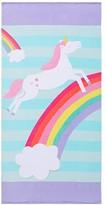 Pottery Barn Kids Classic Unicorn Mini Beach Towel