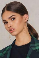 Nugget Shape Drop Earrings