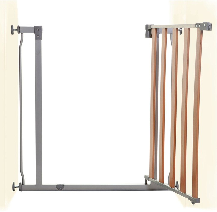 Thumbnail for your product : Dream Baby Dreambaby Cosmopolitan Safety Gate (Fits 75-81Cm) - Wood/Metal