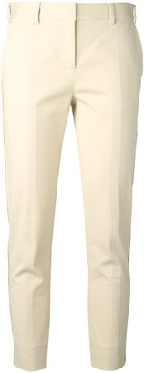 Reed Krakoff textured cropped trousers