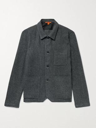 Barena Wool-Blend Chore Jacket - Men - Gray