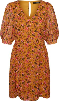 Vero Moda Sussi Floral Print Minidress